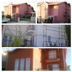 Ankara Çayyolu Villa Şıngıl Üzeri ve Dış Cephe Uygulaması