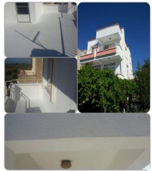Mersin Silifkede Dış Cephe Yalıtımı Yapılmış Villa